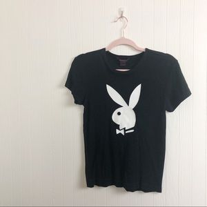 Y2K 🦋 Playboy tee >> Size Small